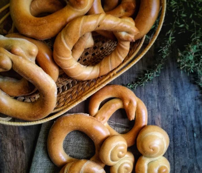 Taralli dolci all'anice della tradizione contadina