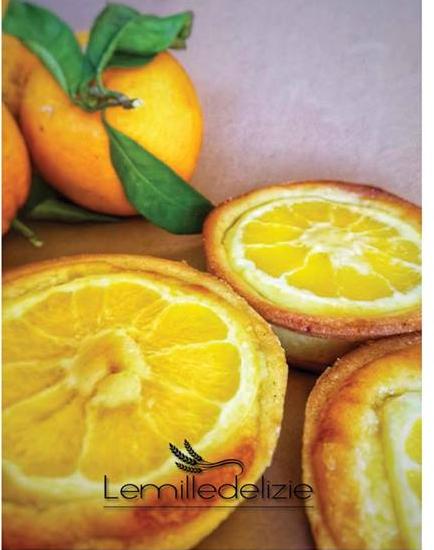 Crostatine con frangipane all'arancia di Luca Montersino